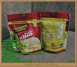 Keripik Durian (Daging Durian) Thailand FruitKing