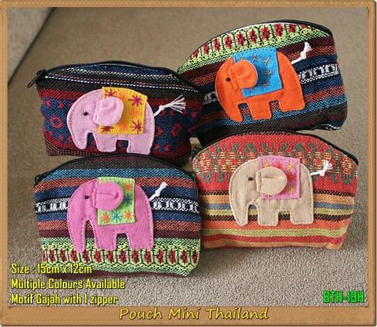Pouch/Dompet Gajah Thailand (BTH-19H)