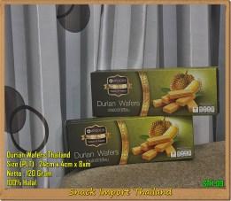 Snack Thailand Wafer Durian