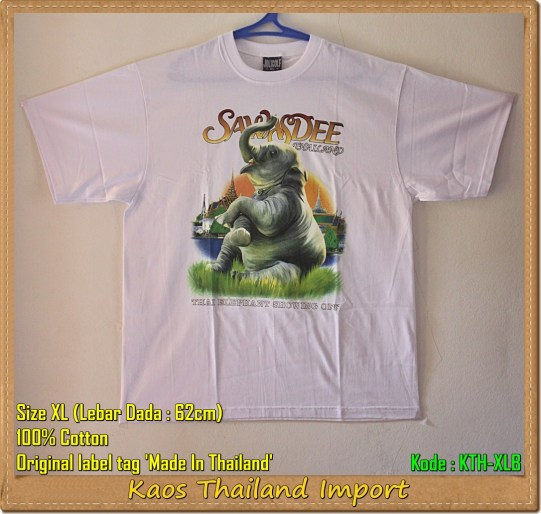Kaos Thailand Size XL (KTH-XLB)