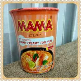 Mie Instant Cup Thailand MAMA Shrimp Creamy TomYum