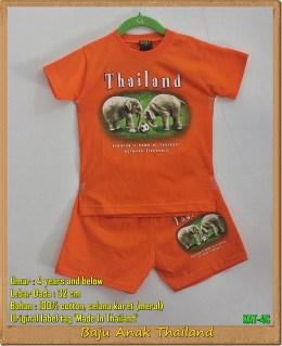 Jual Kaos Anak Thailand Motif Gajah Umur 1 – 8 Tahun, Edisi September2016