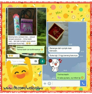 Testimoni Customer Wolipoli