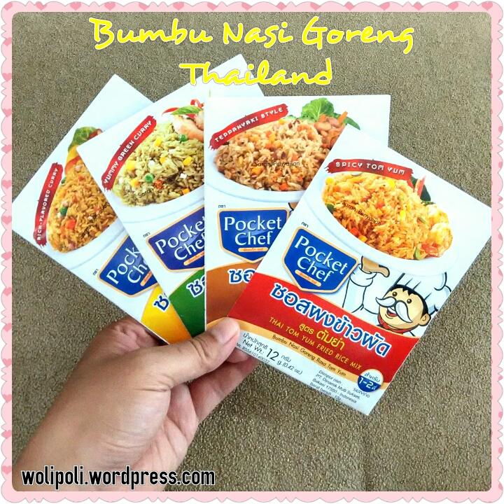 Bumbu Nasi Goreng Thailand