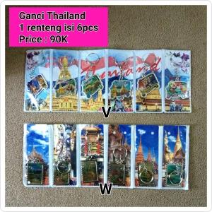 Gantungan Kunci Thailand
