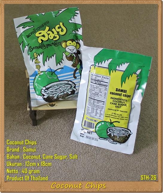 Coconut Chips Samui