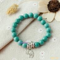 Gelang Gajah Tibetan Silver