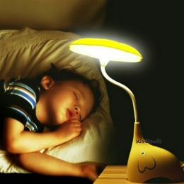 Lampu Tidur Motif Gajah Flexible Light USB Rechargeable