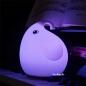 Lampu Tidur Gajah Silikon LED 7 Warna