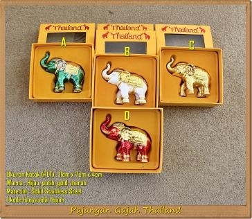 Pajangan Gajah Thailand