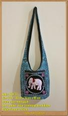 Tas Selempang Payet Gajah Thailand