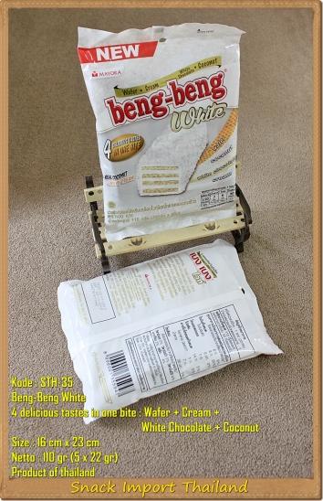 Coklat Thailand Beng-Beng White
