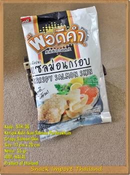 Keripik Thailand Crispy Salmon SkinPordeekhum