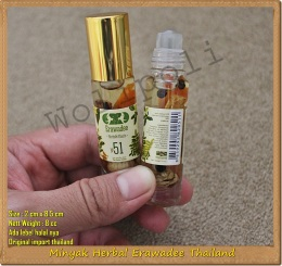 Jual Minyak Erawadee Thailand Herbal Roll On