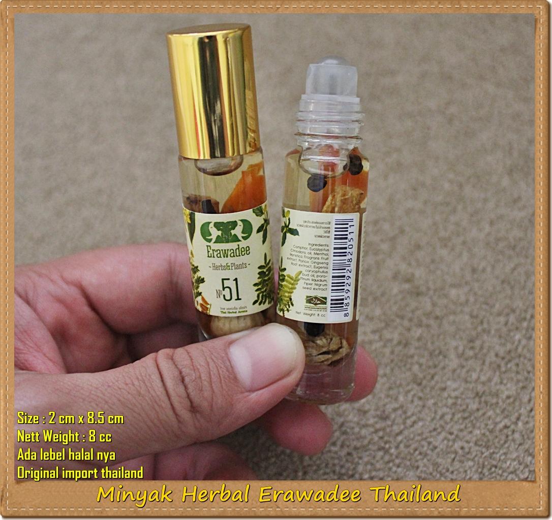 Minyak Erawadee Thailand Wolipoli Herbal