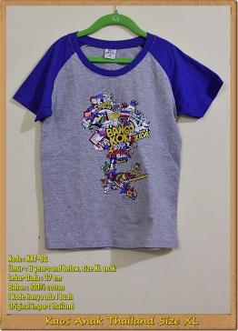 Kaos Anak Thailand Size XL