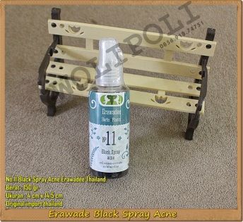 Obat Jerawat Erawadee Black Spray Acne No.11