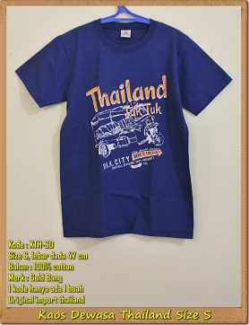 Kaos Dewasa Thailand Size S