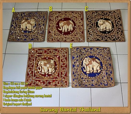 Sarung Bantal Thailand Aneka Warna